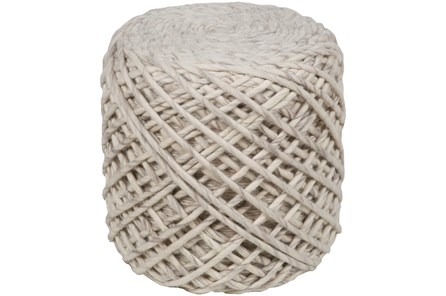 POUF-NATURAL HAND CRAFTED