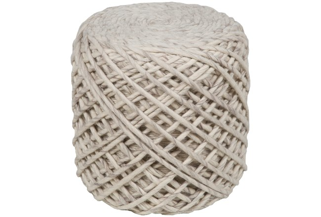 POUF-NATURAL HAND CRAFTED - 360