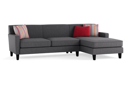Dexter II 2 Piece Sectional With Right Arm Facing Chaise