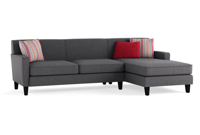 Dexter II 2 Piece Sectional With Right Arm Facing Chaise - 360