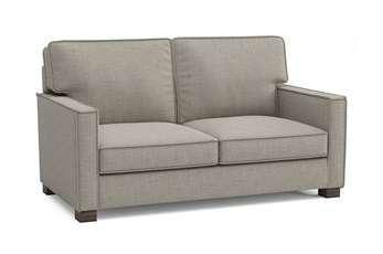"Magnolia Home Dweller Homespun Baltic 37"" Loveseat By Joanna Gaines"