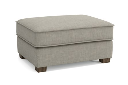 Magnolia Home Dweller Homespun Baltic Ottoman By Joanna Gaines