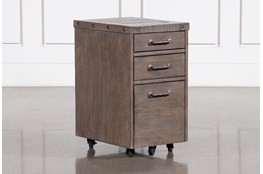 Jaxon Grey Mobile File Cabinet