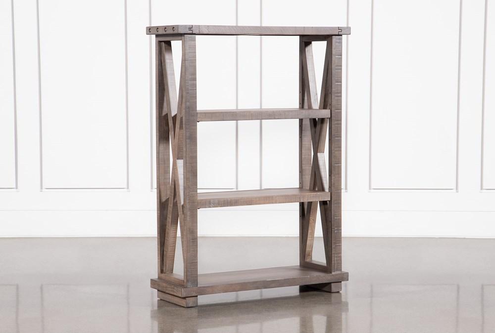 Jaxon Grey 54 Inch Bookcase