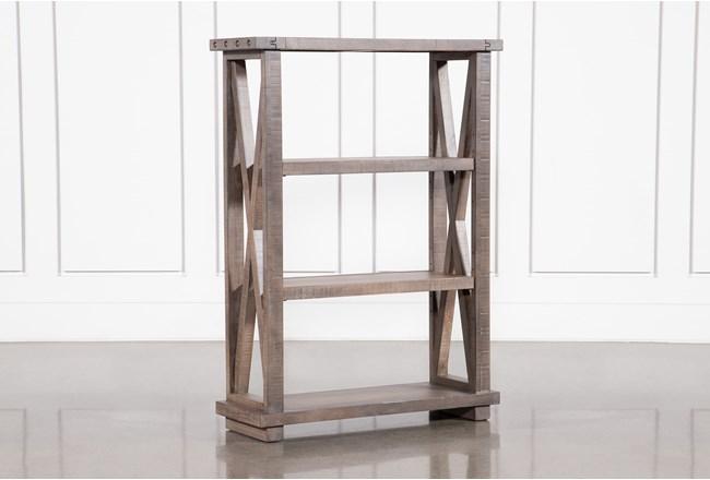 Jaxon Grey 54 Inch Bookcase - 360