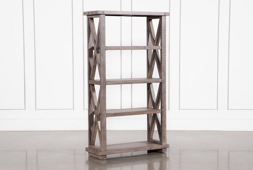 Jaxon Grey 68 Inch Bookcase
