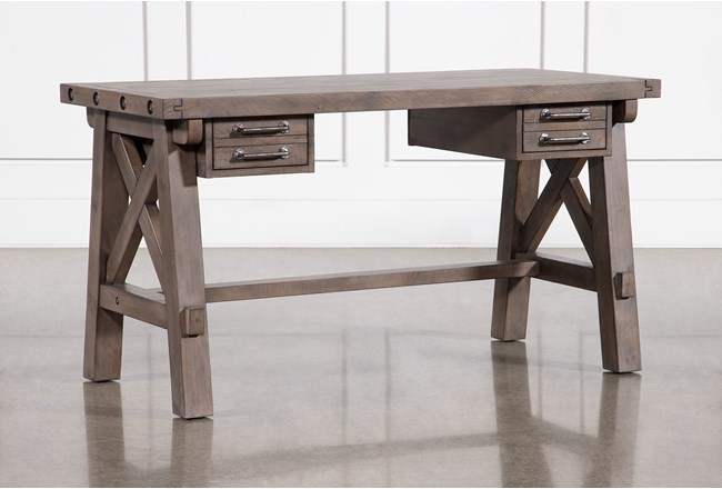 Jaxon Grey Desk - 360