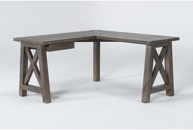 "Jaxon Grey Corner 60"" Desk - 360"