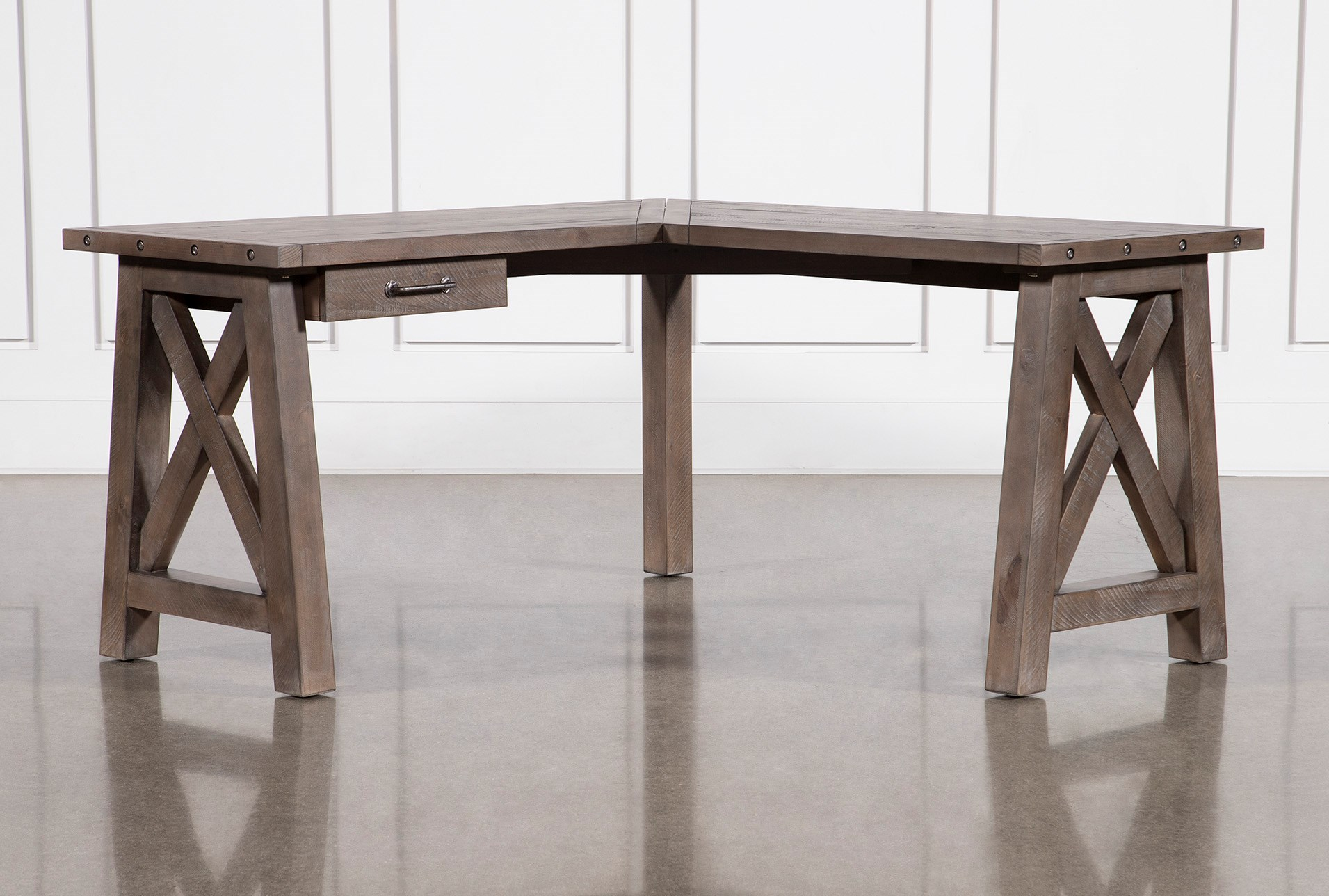 Jaxon Grey Corner Desk