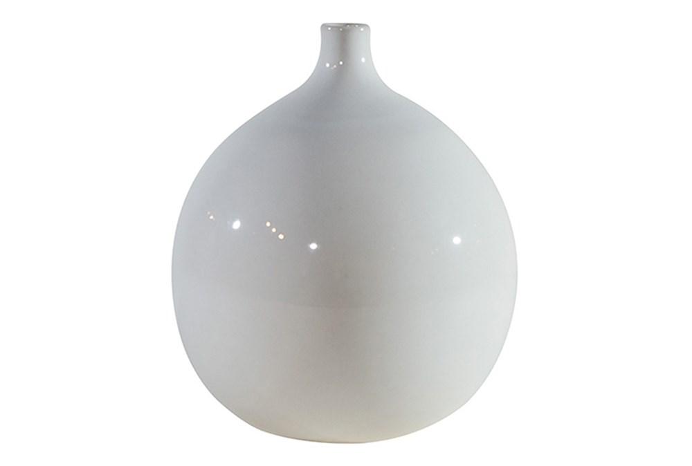Magnolia Home Ceramic Squat Vase Ivory