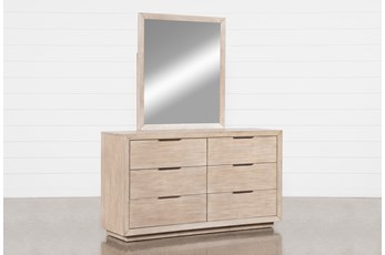 Pierce Natural Dresser/Mirror