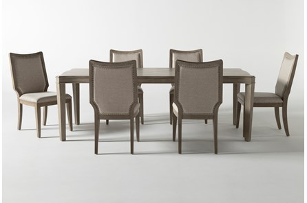 Regent 7 Piece Extension Dining Set With Side Chairs - Main
