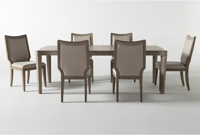 Regent 7 Piece Extension Dining Set With Side Chairs - 360