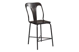 Magnolia Home Gaven Metal Stamped Counterstool By Joanna Gaines