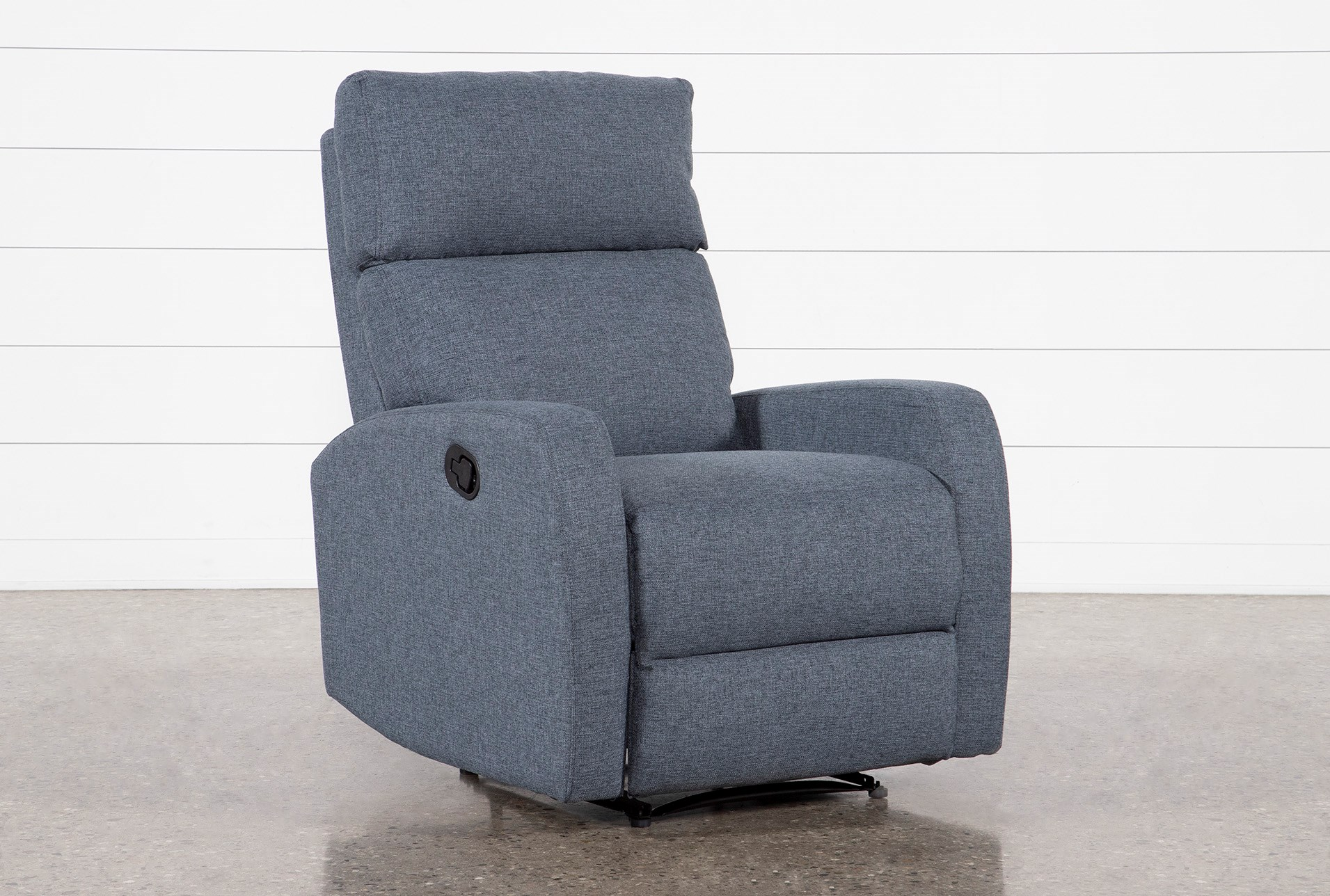 Astonishing Keaton Dark Grey Recliner Machost Co Dining Chair Design Ideas Machostcouk