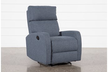 Keaton Dark Grey Recliner