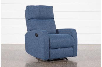 Keaton Denim Recliner