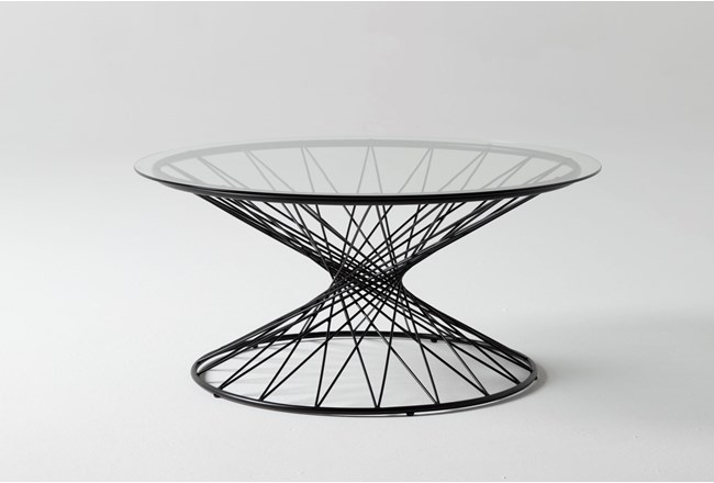 Cam Round Coffee Table - 360