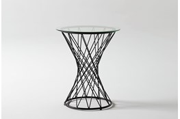 Cam Round End Table