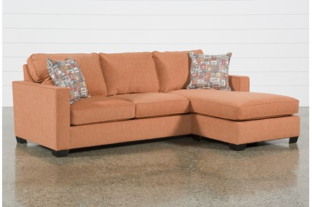 Egan II Tangy Sofa With Reversible Chaise - Main