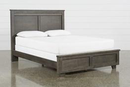 Marco Charcoal Queen Panel Bed