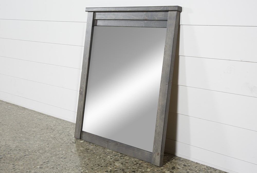 Marco Charcoal Mirror
