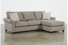 Yvonne Chinchilla Sofa With Reversible Chaise
