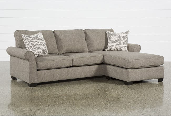 Yvonne Chinchilla Sofa With Reversible Chaise - 360