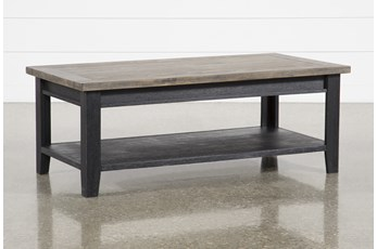 Dixon Black Coffee Table