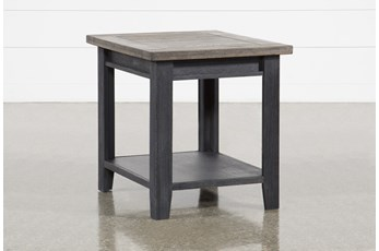 Dixon Black End Table