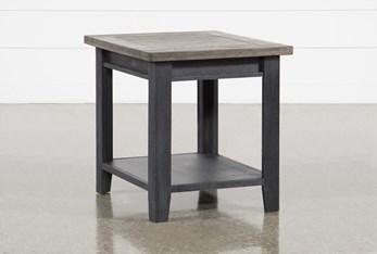 Dixon Black End Table
