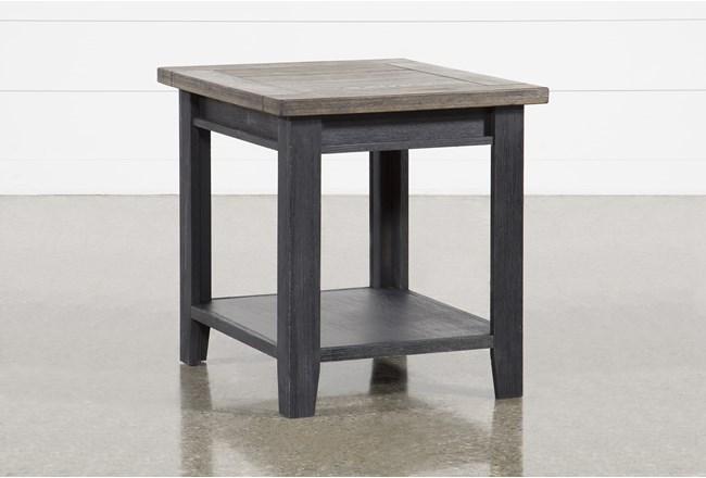 Dixon Black End Table - 360