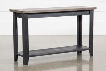 Dixon Black Console Table