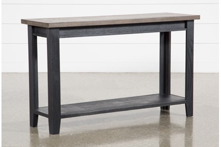 Dixon Black Sofa Table