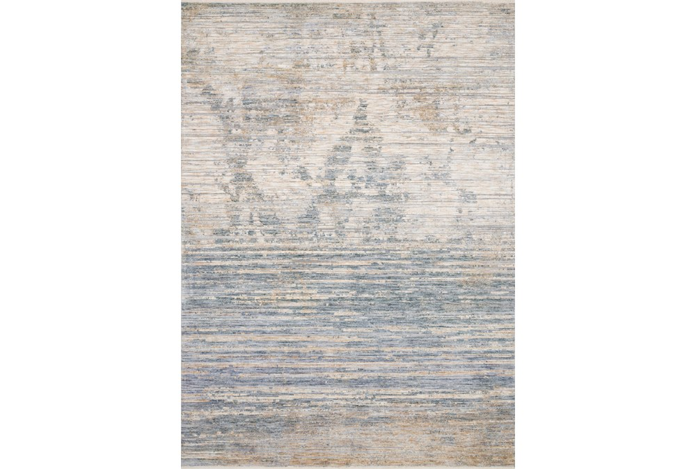 5'x8' Rug-Distressed Ombre Slate/Taupe