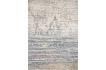60X96 Rug-Distressed Ombre Slate/Taupe