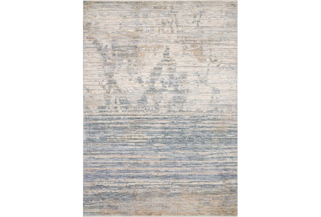 """7'8""""x10' Rug-Distressed Ombre Slate/Taupe - 360"""