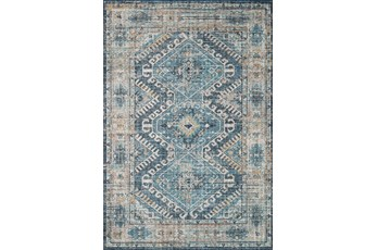 60X90 Rug-Carly Southwest Denim/Natural