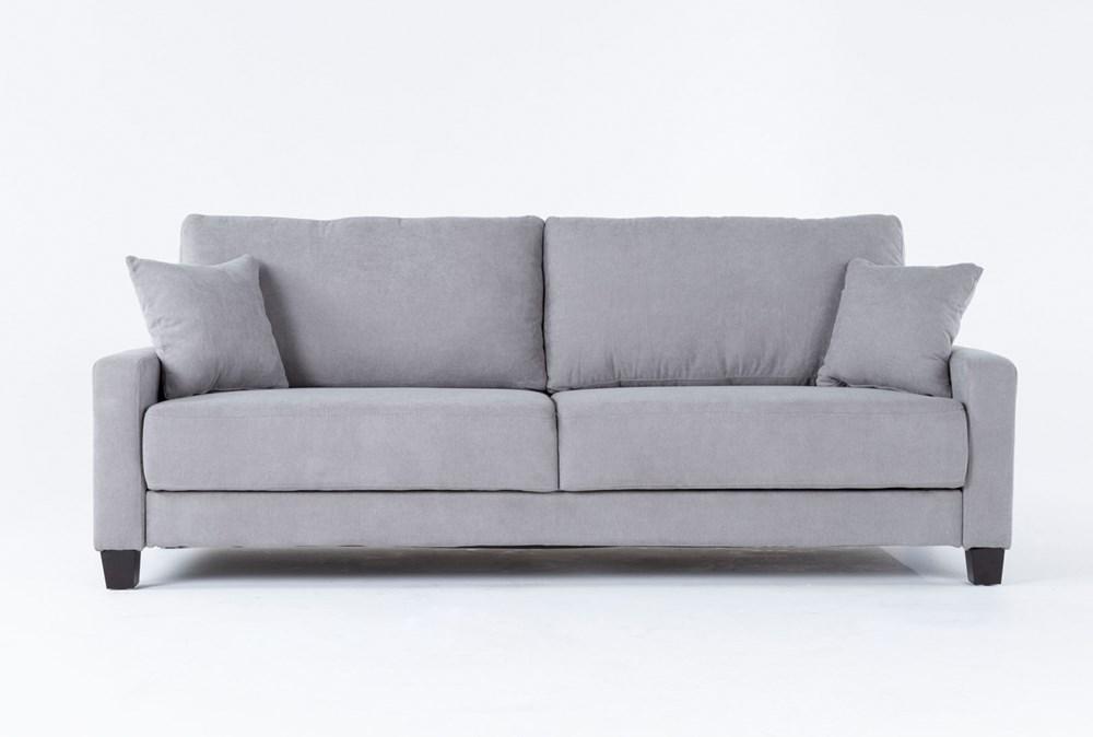 """Pascal Grey 91"""" Queen Convertible Sofa Sleeper"""