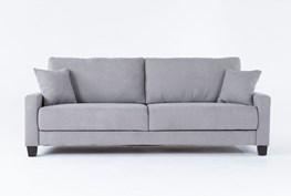 Pascal Grey Queen Convertible Sofa Sleeper