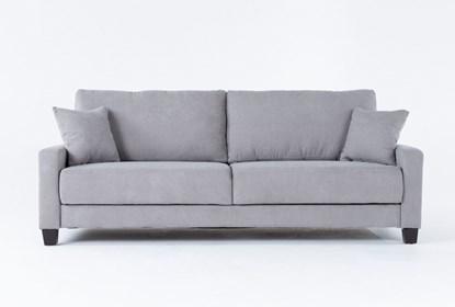 Pascal Grey Queen Convertible Sofa