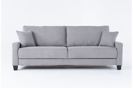 Pascal Grey Queen Convertible Sofa Sleeper