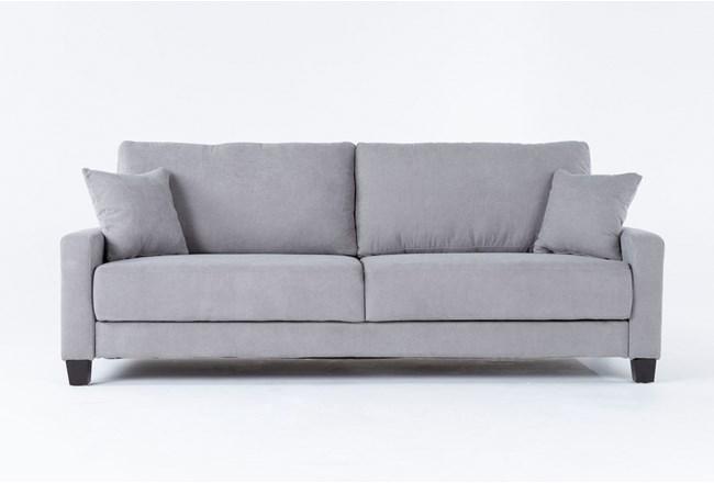 Pascal Grey Queen Convertible Sofa Sleeper - 360