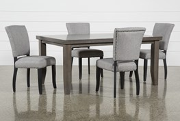 Ashford 5 Piece Dining Set With Kuna Chairs