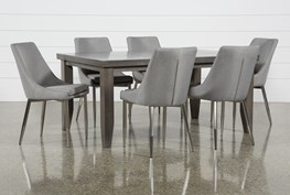 Ashford 7 Piece Dining Set With Bowery II Chairs