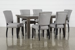 Ashford 7 Piece Dining Set With Kuna Chairs