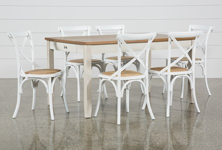 Westshore 7 Piece Dining Set With Ivy Side Chairs