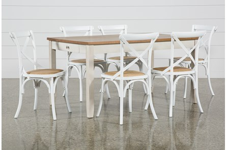 Westshore 7 Piece Dining Set With Ivy Side Chairs - Main