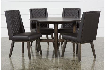 Grady Round 5 Piece Dining Set With Links Chairs - Main