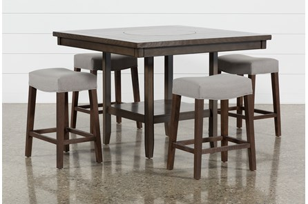 Square Dining Tables With Benches Living Spaces